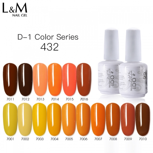 【New 432 Color Nail Gel 】IDO Gelish Soak-off Gel Nail Polish Gloss Summer Spring Gorgeous Gel Lacquer Manicure