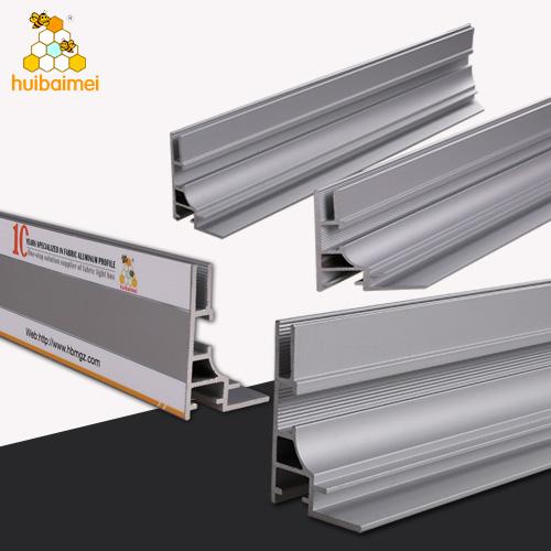 Anodized Extrusion Aluminium Frame System Profile