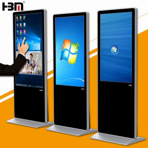 42''Floor Standing Window System Lcd Monitor Usb Media