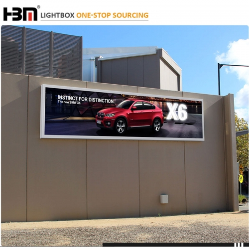 billboard advertising equipment outdoor led tension fabric advertising display stand