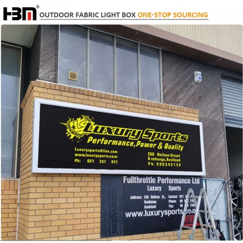out side wall waterproof outdoor fabric light box