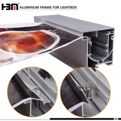 100mm anodized aluminum extrusion profiles waterproof led
