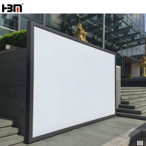 120mm thickness outdoor large size waterproof  with windproof bracket SEG advertising light box