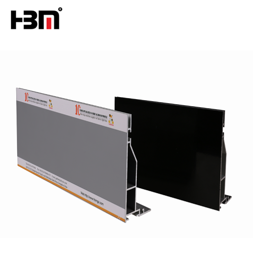 120mm customized seg fabric profile extrusion led backlit or edge-lit box profile