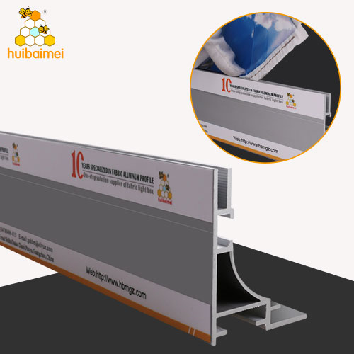 65mm seg frame light box frame aluminium profile for lightbox frame