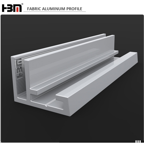 17mm non-lit ultra thin seg fabric frame aluminium profile for light box frame