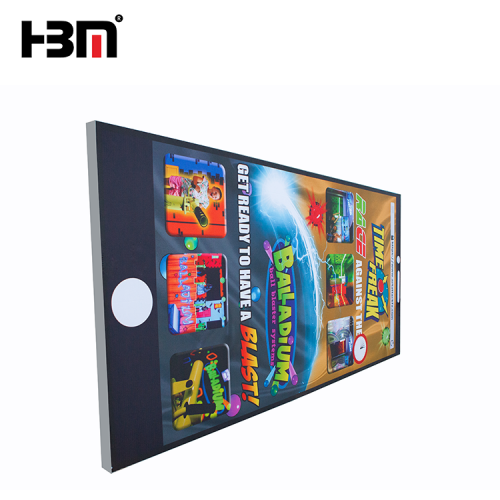 10cm HBM brand wall mounted backlit advertising light box display