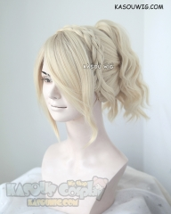 Final Fantasy XV / FFXV Lunafreya Nox Fleuret cream blonde cosplay wig