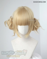 My Hero Academia Toga Himiko bun set blonde cosplay wig