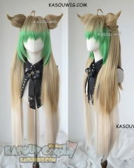 Fate Apocrypha FGO Archer of Red Atalanta long wig with ears
