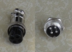 4-Pole Male and FeMale Air Plug
