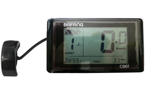 Bafang central kit bbs01-bbs02-BBSHD C961 LCD display(36V/48V)