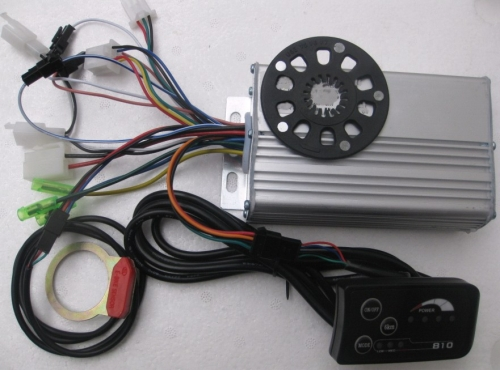 36V/48V 250W 14A 6Mosfets  E-Bike Motor Controller with LED meter