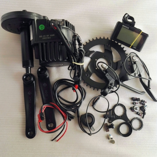Free Shipping  8Fun/bafang 48V 1000W BBSHD BBS03 Ebike Electric bicycle Motor 8fun mid drive electric bike conversion kit for fat ebike