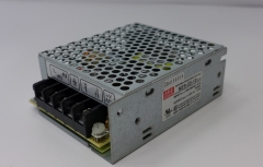 Switching power supply, Mean well, NES-25-12, input 100-240V, output 12V, 2.1A