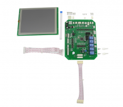 "LCD display+ control board, IPL Elight SHR RF yag laser, 8"" multicolor, with connectors & data cables"