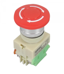 Emergency switch, Onpow, Y090-11TS, Φ22mm