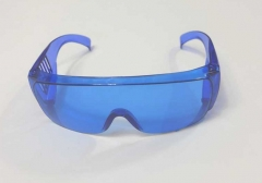 operator's goggles, blue, rectangle