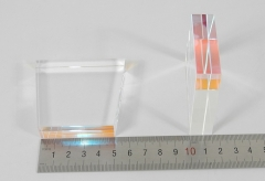light guide, sapphire, trapezium, 15mm*50mm*65mm*57mm H57mm, 640nm