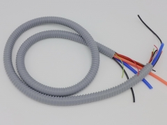 Chinese steel wire plastic handpiece hose with cables and tubes