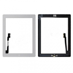 A+ Touch Screen Digitizer with Home Button for iPad 3(ORI Quality) - White