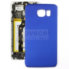Back Cover Battery Door for Samsung Galaxy S6 G920(A+ Quality) -Blue