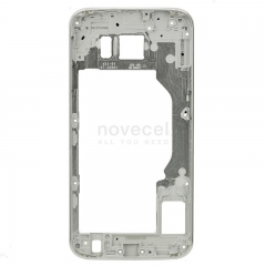 Middle Frame Housing with LCD Holder for Samsung Galaxy S6 G920-Silver