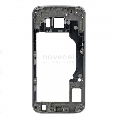 Middle Frame Housing with LCD Holder for Samsung Galaxy S6 G920-Dark Grey