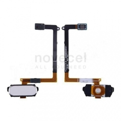 Refurbished Home Button with Flex Cable for Samsung Galaxy S6 G920-White Pearl