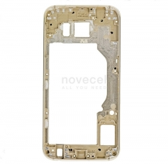 Middle Frame Housing with LCD Holder for Samsung Galaxy S6 G920-Gold