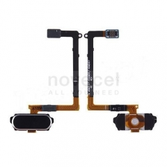 Refurbished Home Button with Flex Cable for Samsung Galaxy S6 G920-Black Sapphire
