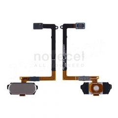 Refurbished Home Button with Flex Cable for Samsung Galaxy S6 G920-Gold Platinum