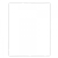 LCD Mid Frame Digitizer Part Holder for iPad 3/ iPad 4-White
