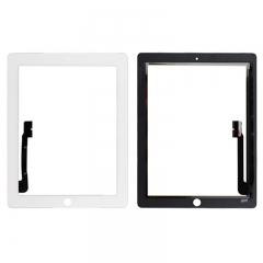 A Touch Screen Digitizer for iPad 3/ iPad 4 (Generic Quality) - White