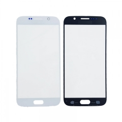 A Front Screen Glass Lens for Samsung Galaxy S6 G920-Regular/White Pearl