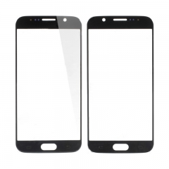 (NO LOGO)Front Screen Glass Lens for Samsung Galaxy S6 G920 - Black