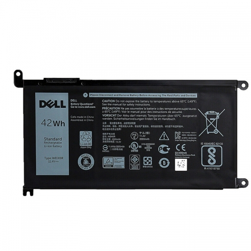 Original Dell WDX0R CYMGM FC92N  FW8KR Y3F7Y T2JX4 Battery 42Wh