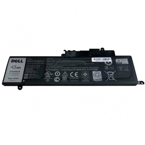 Original Dell 0GK5KY 0WF28 4K8YH 92NCT GK5KY 04K8YH 092NCT P20T P20T003 Battery 43Wh
