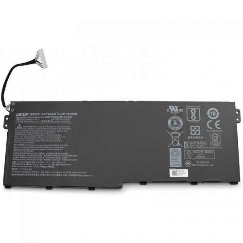 Original 69Wh Acer 4ICP7/61/80 AC16A8N Battery