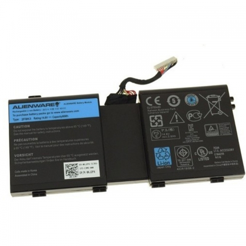 Original 86Wh Dell 2F8K3 451-BBCB G33TT KJ2PX Battery