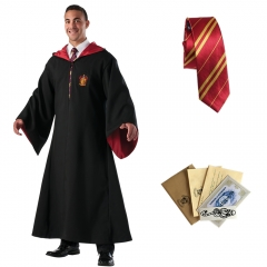 Harry Potter Gryffindor Robe Tie Set