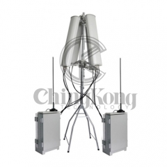 Outdoor High Power Wireless Signal Jammers for Jail project, output power 250W Jamming up 300m