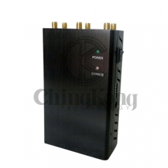 Handheld 6 Antennas Cell Phone Jammer, Block 2g/3G/4G and LOJACK GPS WIFI Signals,