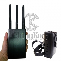 Handheld 6 Antennas Cell Phone Jammer, Block 2g/3G/4G and LOJACK GPS WIFI Signal...