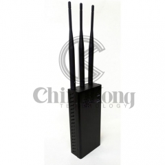 Plus Handheld Remote Control Bomb signal jammer, output power 10W jamming 100meters , Bigger Battery