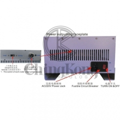 Remote Control Indoor 20W 4 bands Signal Jammer