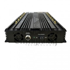 Multifunction 14 Antennas Wireless Signal Jammer For 3G 4G Wi-Fi GPS LOJACK Output power 36 Watt Shielding Radius Up to 40m