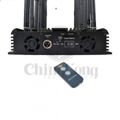 World First 18 Antennas Wireless Signal Jammer Output Power 42Watt With Infrared Remote Control Turn ON /OFF