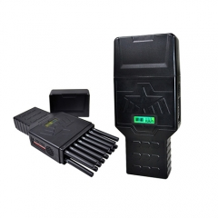 Unique 16 Antennas Portable 5GLTE Signal Jammer,All-in-one Wireless Signal Blocker,12Watt Jamming up to 20m