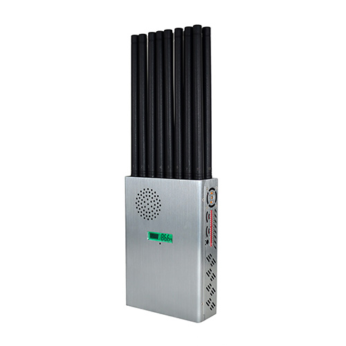 The World First 18 Bands Handheld 5G Jammer With 16 Antennas Design,Bock Cellphone GPS WIFI UHF VHF Up to 25m